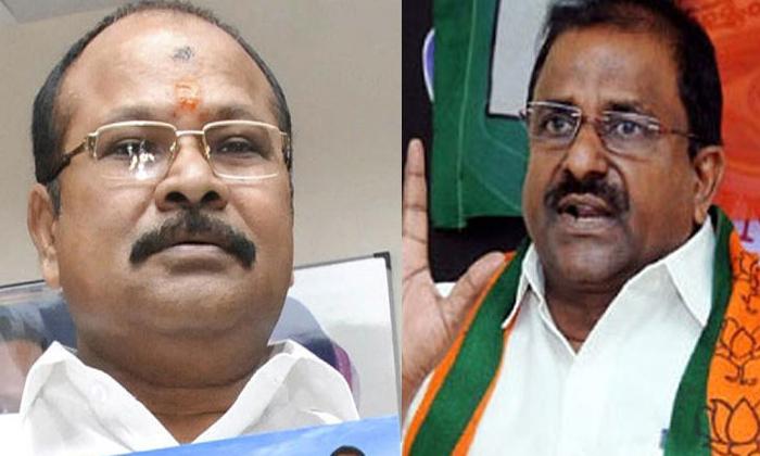 Telugu Andhra Pradesh, Hot Topic, Kanna Lakshmi Narayana, Political Heat, Political News, Political War, Rss, Somu Veeraraju-Political