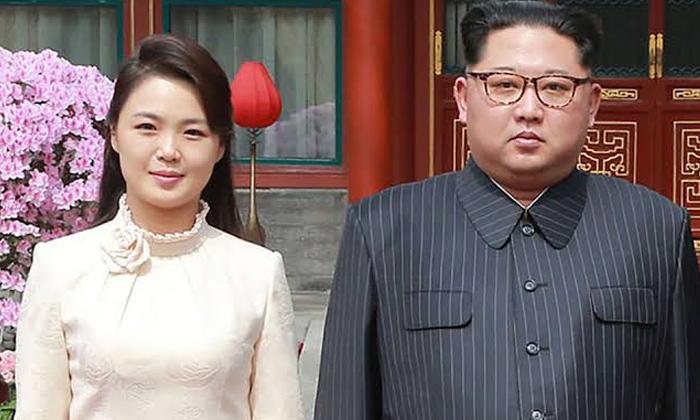 North Korea Kim Jong Un Rules To Wife Ri Sol Ju-కిమ్ ప్రజలకే కాదు భార్యకు కూడా కొన్ని ఆంక్షలు పెట్టాడు.ఇంతకీ అవేంటో తెలుసా-Latest News - Telugu-Telugu Tollywood Photo Image-TeluguStop.com