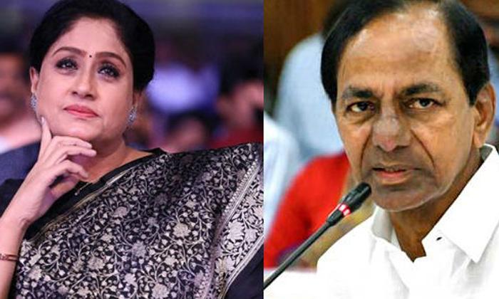Congress Leader Vijayashanthi Sensational Comments On Kcr-TeluguStop.com