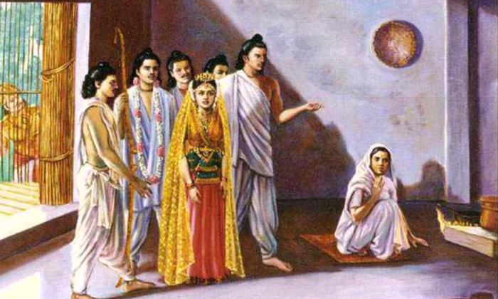 Did You Know Mahabarath Draupadi How To 5 Mens Wife-TeluguStop.com
