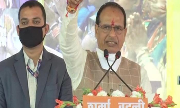 Viral Video: Chief Minister Shivraj Singh Chouhan Danced On Stage ..-General-English-Telugu Tollywood Photo Image-TeluguStop.com