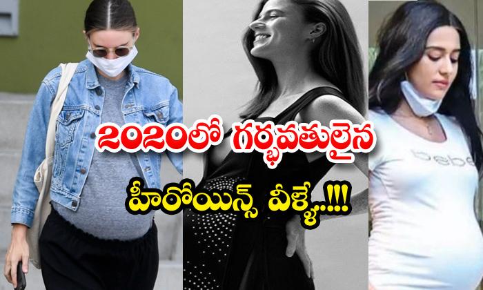 TeluguStop.com - Top Celebriteies Pregnant In 2020