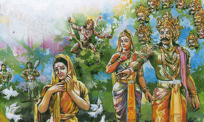 Do You Know Why Ravana Did Not Touch Sita-TeluguStop.com