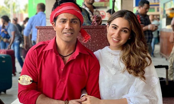 David Was Angry At Varun But Vented On Me Says Sara Ali Khan-TeluguStop.com
