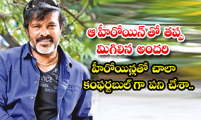 Tollywood Cinematographer Chota K Naidu About His Work Experience With Heroines-TeluguStop.com
