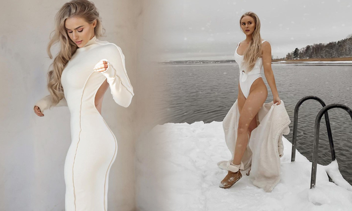 Fashionista Anna Nystrom Hot And Spicy Images Sweeping The Internet-telugu Actress Hot Photos Fashionista Anna Nystrom H High Resolution Photo