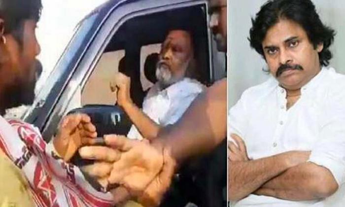 Pawan Kalyan Fires On Ycp Mla-వైసీపీ ఎమ్మెల్యే పై ఫైర్ అయిన పవన్ కళ్యాణ్.. -Latest News - Telugu-Telugu Tollywood Photo Image-TeluguStop.com