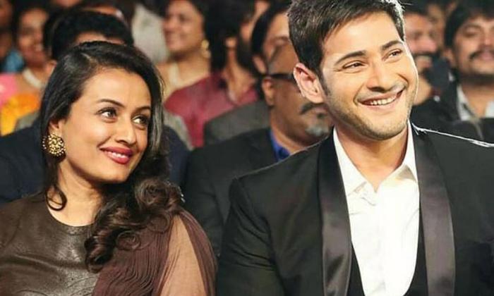TeluguStop.com - Pic Talk: Mahesh Babu's Adorable Wishes For Wife-Latest News English-Telugu Tollywood Photo Image