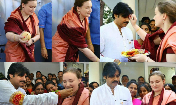 Telugu Anna Lezhneva, Do You Know The Greatness Of Pawan Kalyan Third Wife Anna Lezhneva, Indian Tradition, Mega Family, Pawan Kalyan, Pawan Kalyan Third Wife Anna Lezhneva, Russian-Telugu Stop Exclusive Top Stories