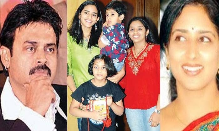 Telugu Hero Venkatesh, Suresh Babu, Unknown Facts About Hero Venkatesh Three Daughters, Venaktesh Daughtre Ashritha Marriage, Venkatesh, Venkatesh Daughters, Venkatesh Family, Venkatesh Son Arjun, Venkatesh Wife-Telugu Stop Exclusive Top Stories