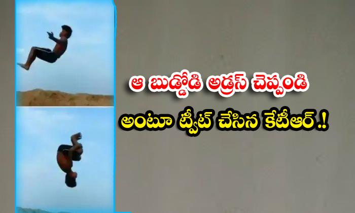 Viral Latest Viral Post Viral Video Ktr Social Media-TeluguStop.com
