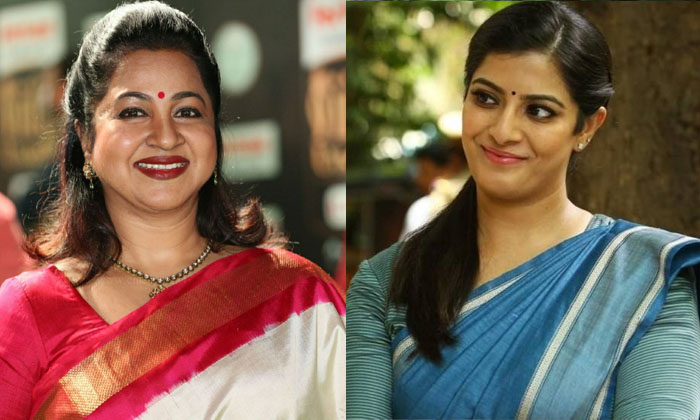 Varalaxmi Sarat Kumar Comments About Radhika-ఆమె నన్ను ఇబ్బంది పెట్టింది.. సవతితల్లిపై వరలక్ష్మి కీలక వ్యాఖ్యలు..-Latest News - Telugu-Telugu Tollywood Photo Image-TeluguStop.com