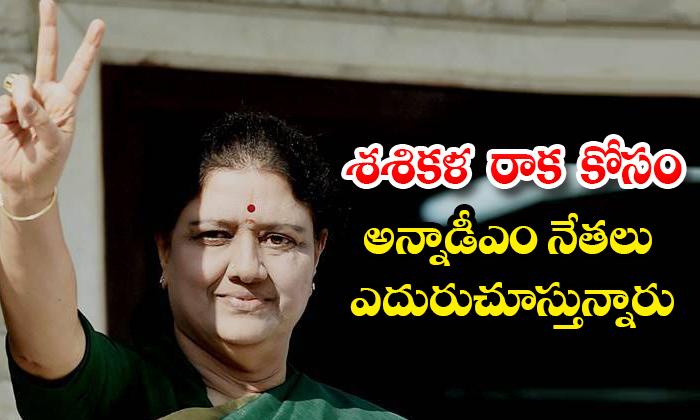 TeluguStop.com - Ammk Sarswathi Intresting Comments On Shashikala