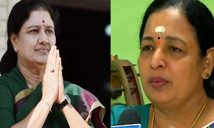 Telugu Aidmk, Ammk, Saraswathi, Shashikala, Shashikala In Karnataka Jail, Tamilnadu, Tamilnadu Politics-Latest News - Telugu