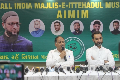 TeluguStop.com - AIMIM's Gujarat Unit Launched To Contest Local Polls-Latest News English-Telugu Tollywood Photo Image