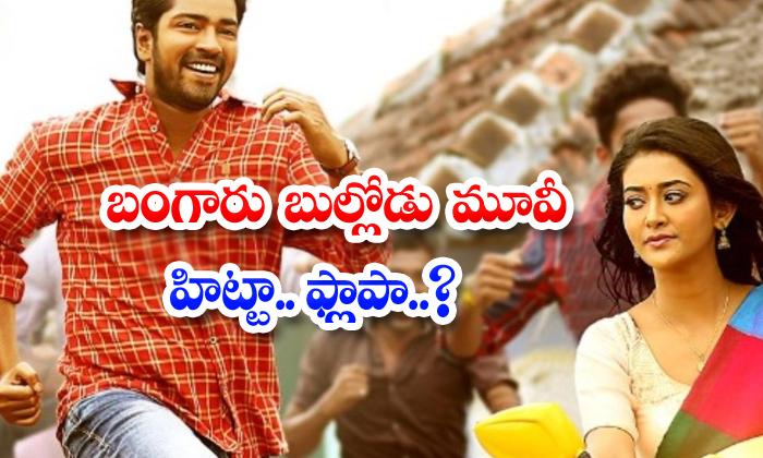 Allari Naresh Bangaru Bullodu Movie First Talk-TeluguStop.com