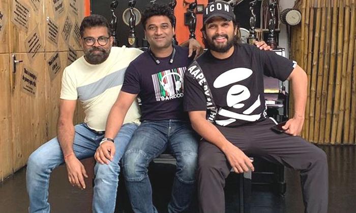 Allu Arjun And Sukumar Movie Pushpa Shooting Update-పుష్ప' ఏం జరుగుతుంది… బన్నీ ప్రస్తుతం ఎక్కడ ఉన్నాడు-Latest News - Telugu-Telugu Tollywood Photo Image-TeluguStop.com
