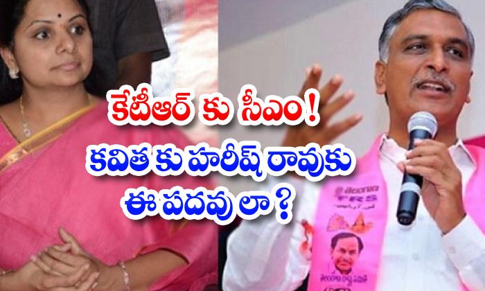 TeluguStop.com - Kavitha Hareesh Rao Posts Disided By Kcr