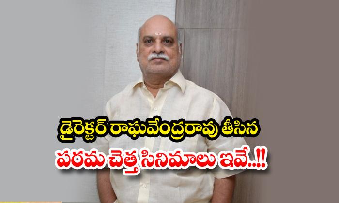 TeluguStop.com - Director K Raghavendra Rao Hit And Flop Movies