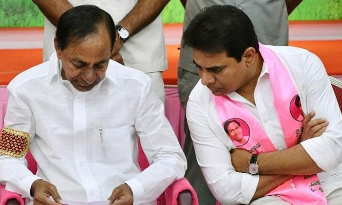Telangana Minister Ktr Active Roll On Party Issues-కేటీఆర్ హడావుడి ఎందుకో  -Political-Telugu Tollywood Photo Image-TeluguStop.com