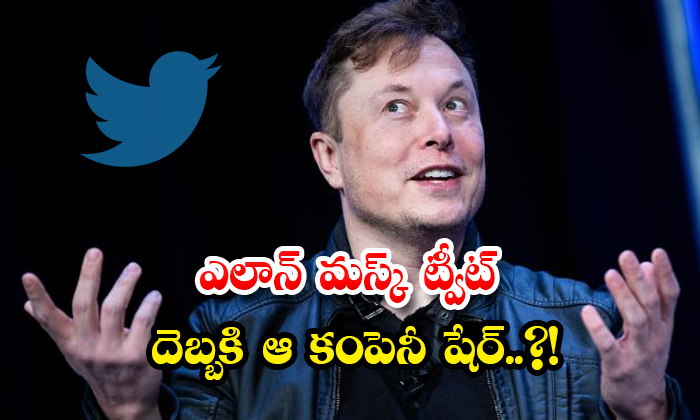 TeluguStop.com - Elon Musks Tweet Makes The Companys Shares Blow