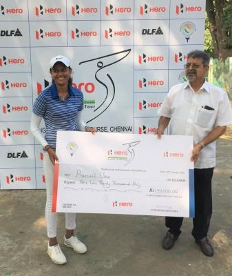 TeluguStop.com - Flawess Pranavi Rallies To Win Second Leg Of Women's Golf-Latest News English-Telugu Tollywood Photo Image