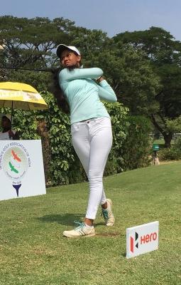 TeluguStop.com - Flawess Pranavi Rallies To Win Second Leg Of Women's Golf