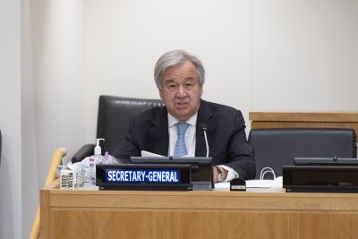 TeluguStop.com - Guterres Appoints Advisory Panel On Syrian Humanitarian Deconfliction