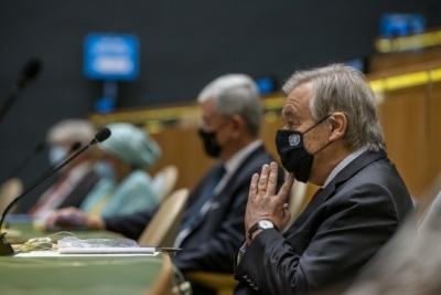 TeluguStop.com - Guterres Hails Nuclear Weapon Ban Treaty's Coming Into Force
