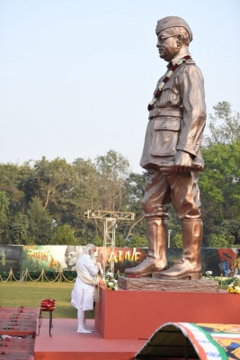 TeluguStop.com - India Is Following Footsteps That Netaji Had Dreamt Of: PM Modi-Latest News English-Telugu Tollywood Photo Image