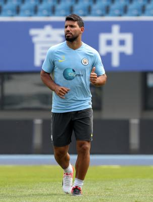 Manchester City Striker Aguero Tests Positive For Covid-19-TeluguStop.com