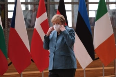 TeluguStop.com - Merkel Expects Talks With Biden Admin About Nord Stream 2