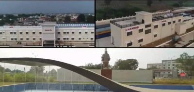 TeluguStop.com - PM Flags Off 8 Trains To Statue Of Unity In Gujarat (Ld)-Latest News English-Telugu Tollywood Photo Image