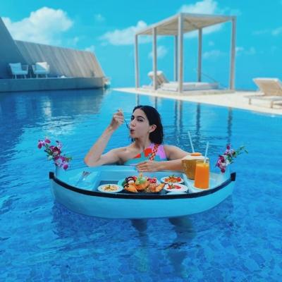 Sara Ali Khan Oozes Oomph In Floating Maldives Moment-Bollywood News-Telugu Tollywood Photo Image-TeluguStop.com