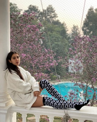 Sara Ali Khan Shares A Dash Of sweater Days And Winter Haze'-Cinema/ShowBiz News-Telugu Tollywood Photo Image-TeluguStop.com