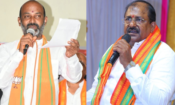 Political Discution About Bandi Sanjay Entry In Ap Politics-TeluguStop.com