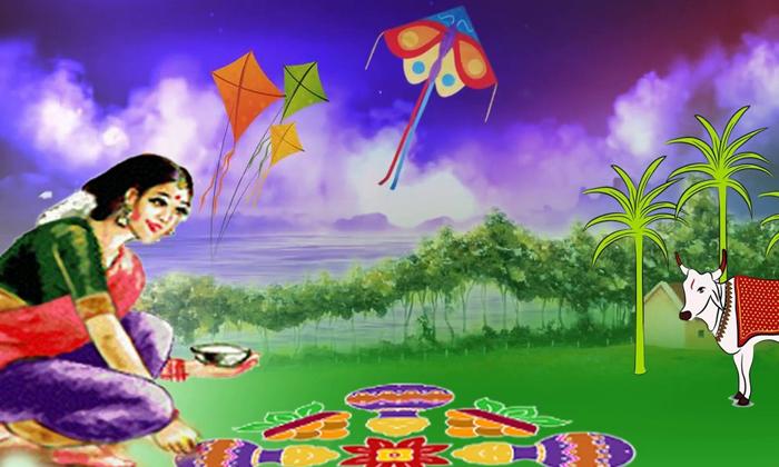 Why Rangoli Gobbemmalu Do Sankranthi Festival-TeluguStop.com
