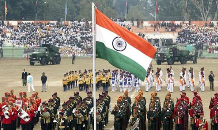 Telugu Bjp Leader Khushbu, Foreign Flag, Indian Flag, Khushboo, Repabulic Day, Telugu Industry, Twitter, Viral-Latest News - Telugu