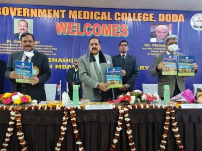 1st Batch Of Mbbs Students Inaugurated At Gmc Doda-TeluguStop.com