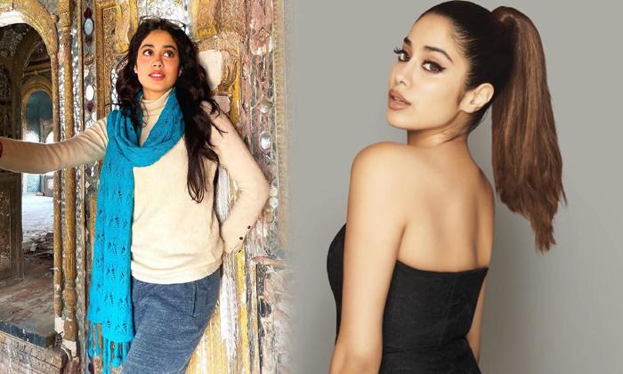 Actress Janhvi Kapoor Beautiful Hd Images-telugu Actress Hot Photos Actress Janhvi Kapoor Beautiful Hd Images - Telugu High Resolution Photo