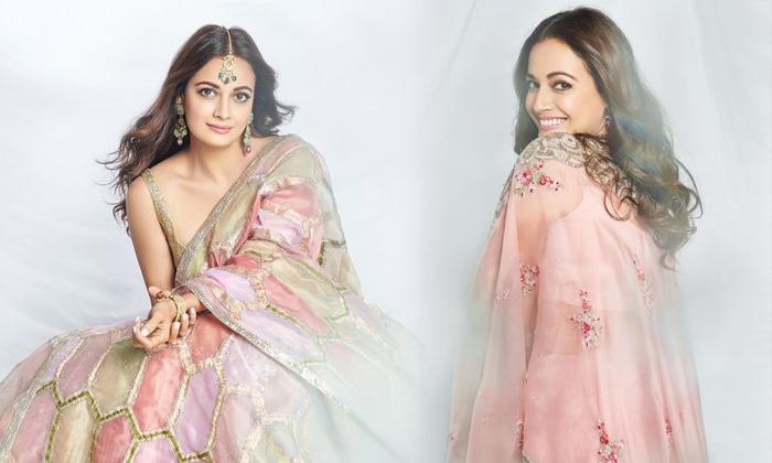 Actress Dia Mirza Beautiful Pics-telugu Actress Hot Photos Actress Dia Mirza Beautiful Pics - Telugu Hd Stills And Clip High Resolution Photo