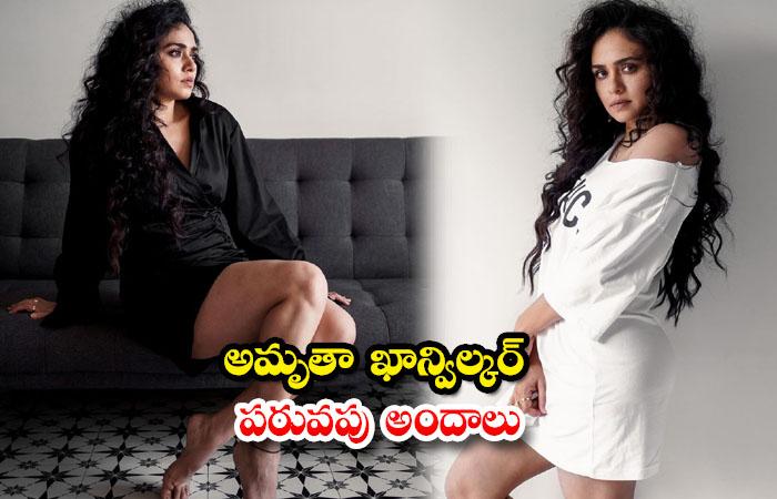 Alluring images of Actress Amruta Khanvilkar-అమృతా ఖాన్విల్కర్ పరువపు అందాలు