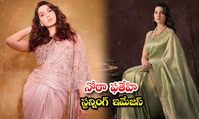 Beautiful actress Nora Fatehi amazing clicks-నోరా ఫతేహి స్టన్నింగ్ ఇమేజస్