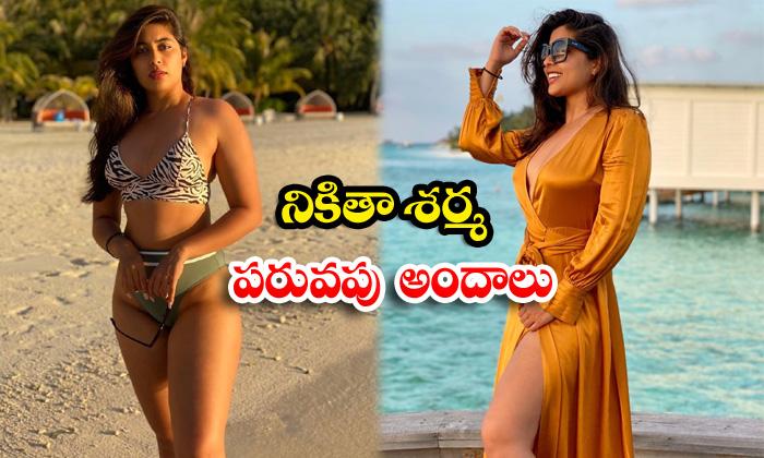 Bollywood telivision actress nikita sharma beach vacation images-నికితా శర్మ పరువపు అందాలు