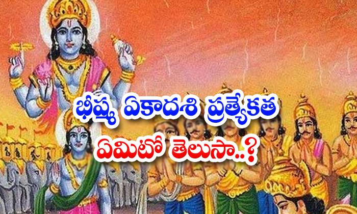 TeluguStop.com - Bhishma Ekadashi