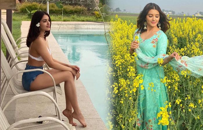 Entrancing Pictures Of Malvika Sharma-telugu Actress Hot Photos Entrancing Pictures Of Malvika Sharma - Telugu Glamorous High Resolution Photo