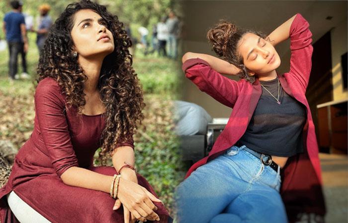Heroine Actress Anupama Parameswaran Glamorous Clicks-telugu Actress Hot Photos Heroine Actress Anupama Parameswaran Gla High Resolution Photo