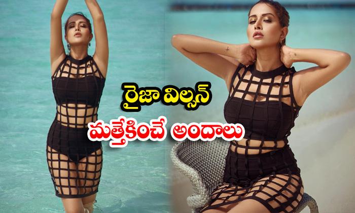 Indian model raiza wilson beach vacation hot stills-రైజా విల్సన్ మత్తెక్కించేఅందాలు