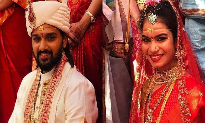 Pic Talk: Sumanth Ashwin Gets Hitched-Latest News English-Telugu Tollywood Photo Image-TeluguStop.com