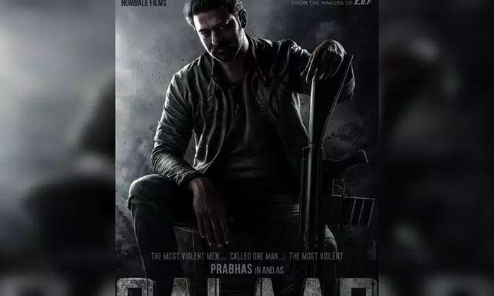 Prabhas's 'salaar' Wraps Up Its First Schedule-TeluguStop.com